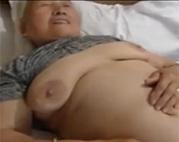 Bumst die japanische Oma