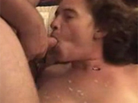 Dickbusige Amateur Oma privat