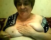 Dicke Amateur Granny will dich