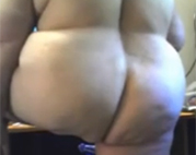 Dicke Omi steht auf versaute Webcam