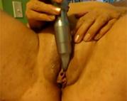 Dildo Sex für alte Amateurin