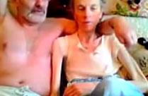 Opa fickt seine magersüchtige Oma