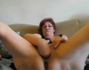 Faustfick geile Webcam Oma