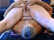 Fette Senioren ficken vor Webcam