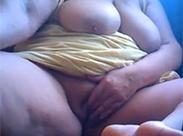 Fingern im Granny Webcam Porno