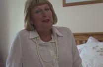Geile britische Oma