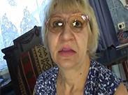 Hässliche Oma in Küche gebumst