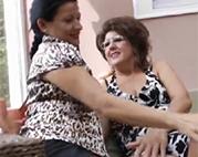 Lesbische Omas gehen ran