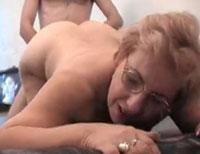 Mollige Amateur Oma