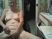 Muschi fingern vor der Webcam