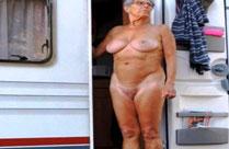 Nackte Alte Omas
