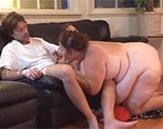 Nen Harten für die fette BBW Granny