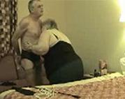 Oma BDSM im Hotelzimmer