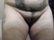 Nackte Oma in der Umkleidekabine gefilmt