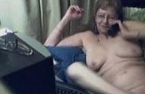 Wenn Oma sich vor der Webcam auszieht