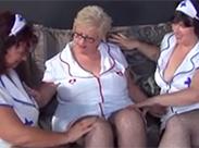 Oma Krankenschwester Lesben Dreier
