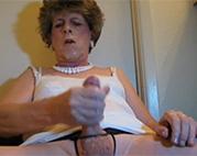 Oma Transe voll pervers