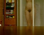 Omi in Dusche ausgespannt