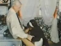 Retro Opa fickt das Hausmädchen