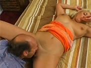 Reife Blondine hat Sex im Hotel