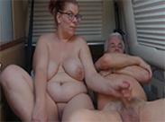 Senioren Sex beim Camping