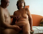 Senioren Sex vor der Webcam