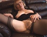 Sexy Nylon Oma