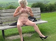 Super heiße Amateur Mature outdoor