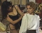 Verführerische Vintage Lesben