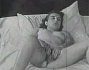 Vintage Oma masturbiert